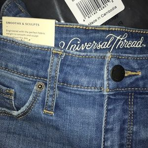 High-Rise Skinny Jeans size 2 NEW
